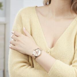 Montre Guess Tri Glitz Rose - Montres Femme   Histoire d'Or