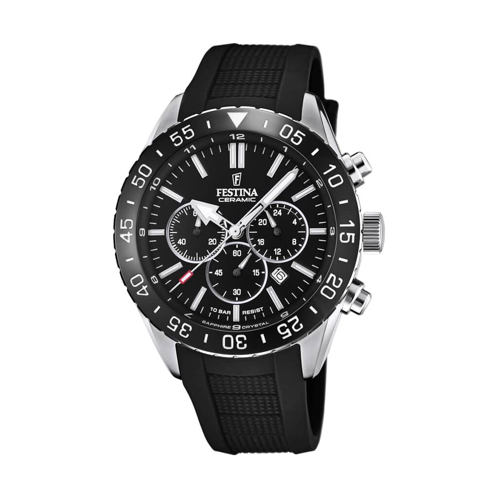Montre Ceramic Noir