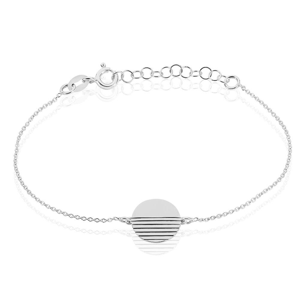 Bracelet Morea Argent Blanc - Bracelets fantaisie Femme   Histoire d'Or