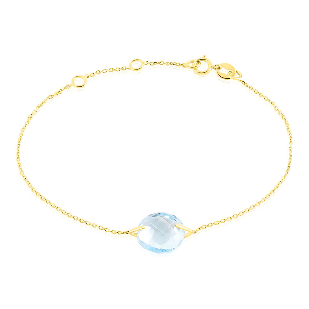 Bracelet Ludmille Or Jaune Topaze - Bijoux Femme   Histoire d'Or