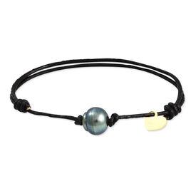 Bracelet Kostansa Or Jaune Perle De Culture De Tahiti - Bracelets cordon Femme | Histoire d'Or