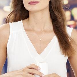 Collier Salman Or Jaune Perle De Culture - Bijoux Femme | Histoire d'Or