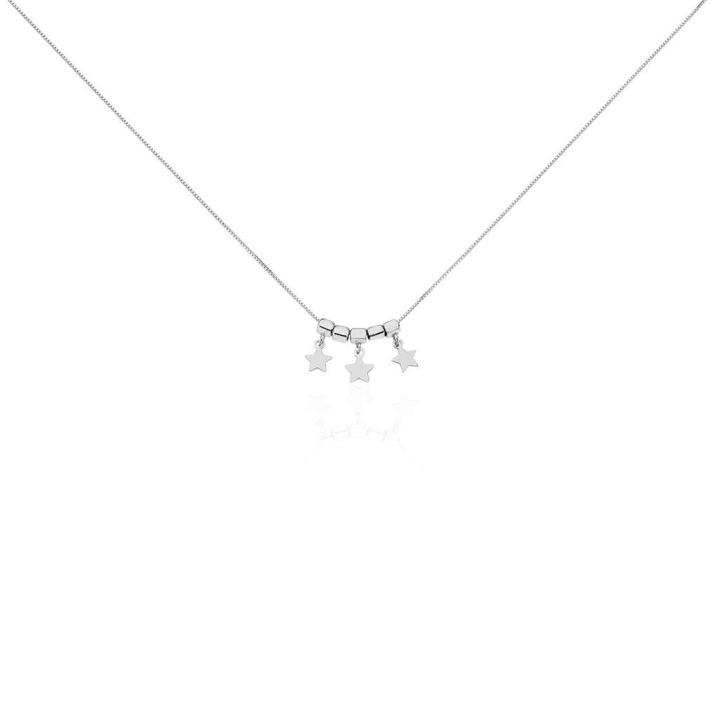 Collier Argent Blanc  Olie - Colliers Etoile Femme | Histoire d'Or