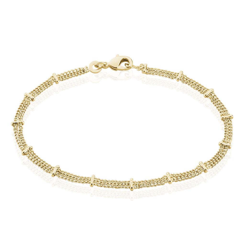 Bracelet Naria Plaque Or Jaune - Bracelets fantaisie Femme | Histoire d'Or