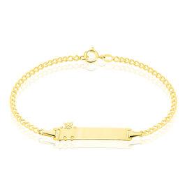 Bracelet Identite Bebe Or Jaune Elorri - Gourmettes Femme | Histoire d'Or