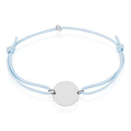 Bracelet Helenia Pastille Gravable Or Blanc - Bracelets Naissance Enfant | Histoire d'Or