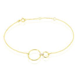 Bracelet Honorine Or Jaune Diamant - Bijoux Femme   Histoire d'Or