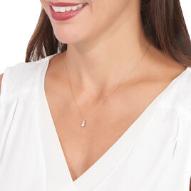 Collier Alicea Or Rose Diamant - Bijoux Femme | Histoire d'Or