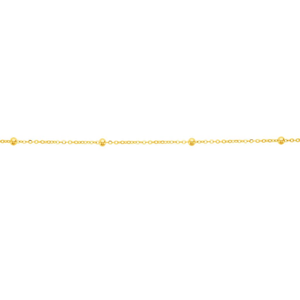 Bracelet Petites Boules Or Jaune - Bijoux Femme   Histoire d'Or