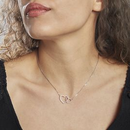 Collier Argent Rhodié Katarin - Colliers Coeur Femme | Histoire d'Or