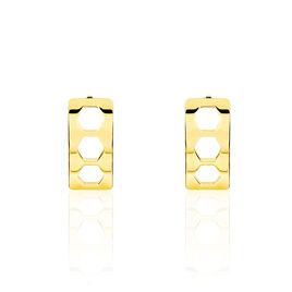 Boucles D'oreilles Puces Maloe Or Jaune - Clous d'oreilles Femme | Histoire d'Or