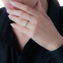 Bague Solitaire Etoile Or Blanc Diamant - Bagues Etoile Femme | Histoire d'Or