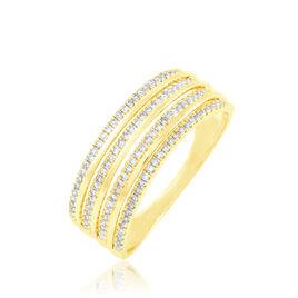 Bague Ines Or Jaune Diamant - Bagues avec pierre Femme | Histoire d'Or