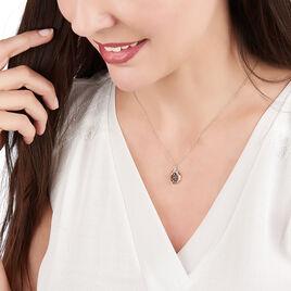 Collier Aurora Or Jaune Saphir Et Diamant - Bijoux Femme | Histoire d'Or