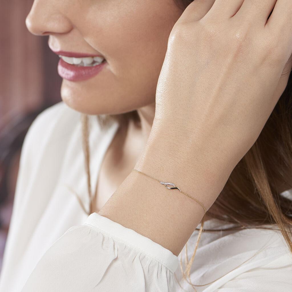 Bracelet Tylane Or Jaune Diamant - Bijoux Femme   Histoire d'Or