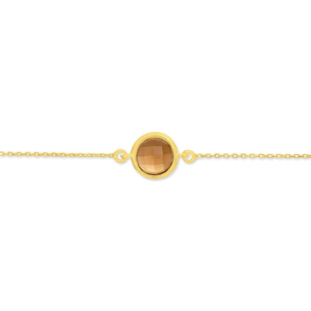 Bracelet Arenale Or Jaune Quartz - Bijoux Femme   Histoire d'Or