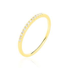 Alliance Pristina Or Jaune Diamant - Alliances Femme | Histoire d'Or