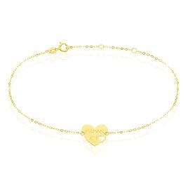 Bracelet Saundra Or Jaune - Bracelets Coeur Femme | Histoire d'Or
