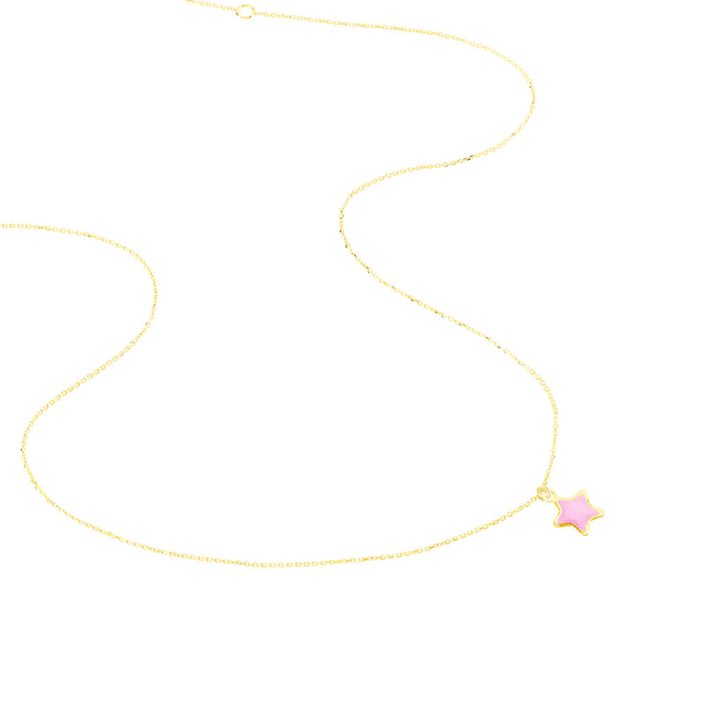Collier Darilyn Etoile Or Jaune - Colliers Etoile Enfant | Histoire d'Or