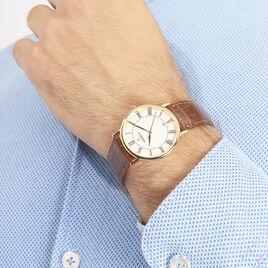 Montre Michel Herbelin Classique Blanc - Montres Homme | Histoire d'Or