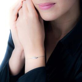 Bracelet Delphine Or Blanc Diamant - Bijoux Femme | Histoire d'Or