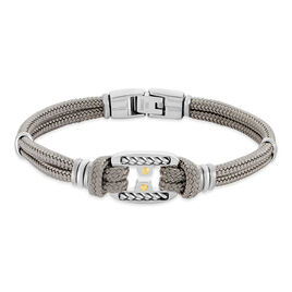 Bracelet Maho Acier Bicolore - Bijoux Homme | Histoire d'Or