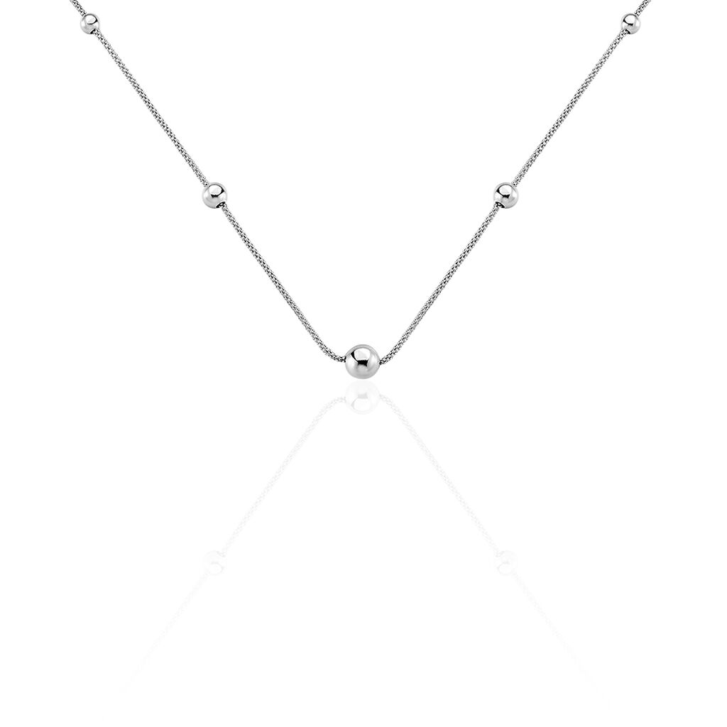 Collier Catarina Argent Blanc - Colliers fantaisie Femme | Histoire d'Or