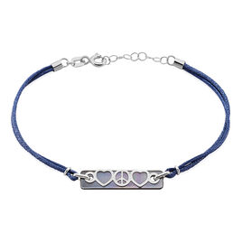 Bracelet Crepin Or Blanc Nacre - Bracelets Coeur Femme | Histoire d'Or