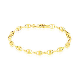 Bracelet Carlo Maille Marine Ronde Or Jaune - Bracelets chaîne Femme   Histoire d'Or