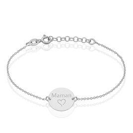 Bracelet Tanie Argent Blanc - Bracelets Coeur Femme | Histoire d'Or
