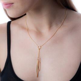 Collier Sophy Plaque Or Jaune - Bijoux Femme   Histoire d'Or