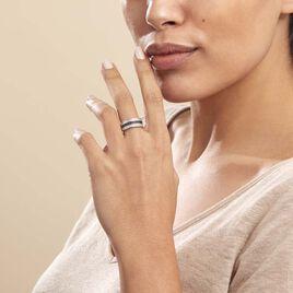 Bague Kelyan Argent Blanc Oxyde De Zirconium - Bagues avec pierre Femme | Histoire d'Or