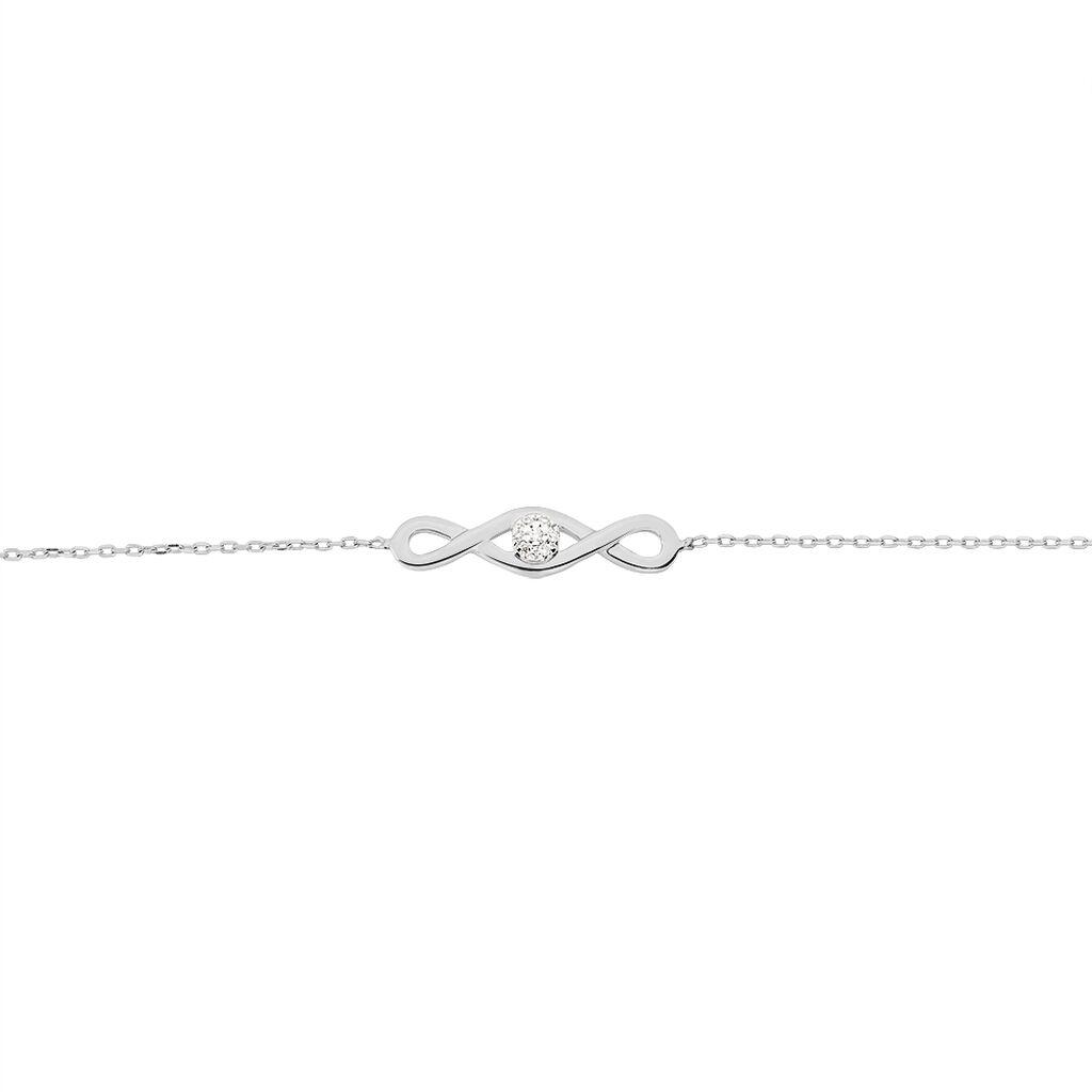 Bracelet Sacia Or Blanc Diamant - Bijoux Femme | Histoire d'Or