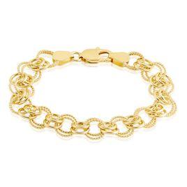 Bracelet Plaque Or Lezou - Bracelets chaîne Femme | Histoire d'Or