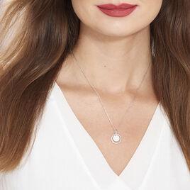 Collier Valerie Argent Blanc Oxyde De Zirconium - Colliers fantaisie Femme | Histoire d'Or