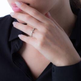 Bague Solitaire Morrigane Or Blanc Diamant - Bagues solitaires Femme | Histoire d'Or