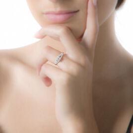 Bague Victoria Or Blanc Diamant - Bagues solitaires Femme | Histoire d'Or