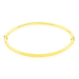 Bracelet Jonc Cleanne Fil Rond Or Jaune - Bracelets joncs Femme | Histoire d'Or