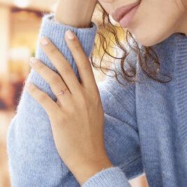 Bague Solitaire Dota Or Jaune Rubis - Bagues solitaires Femme | Histoire d'Or