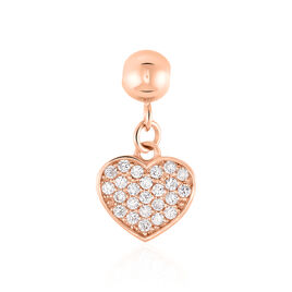 Charm Or Rose Coeur - Pendentifs Coeur Femme | Histoire d'Or