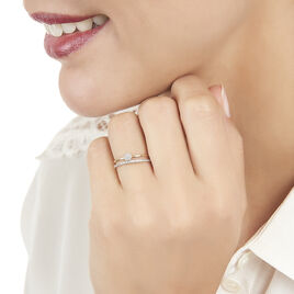 Bague Maellys Or Jaune Diamant - Bagues solitaires Femme | Histoire d'Or