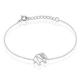 Bracelet Argent Rhodie Caroline Oxyde - Bracelets fantaisie Femme | Histoire d'Or