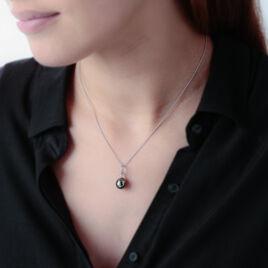 Collier Latoya Or Blanc Perle De Culture De Tahiti Et Diamant - Bijoux Femme | Histoire d'Or