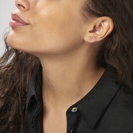 Boucles D'oreilles Puces Albiorica Or Jaune - Clous d'oreilles Femme | Histoire d'Or
