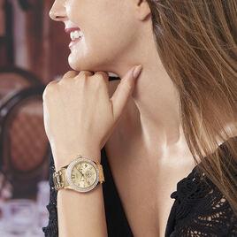 Montre Guess Bedazzle Champagne - Montres Femme   Histoire d'Or
