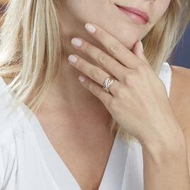 Bague Pivoine Or Jaune Diamant - Bagues avec pierre Femme | Histoire d'Or