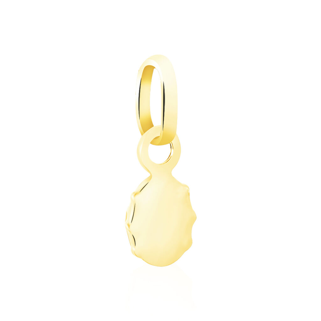 Pendentif Helidie Coccinelle Or Jaune