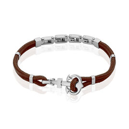 Bracelet Sephora Acier Blanc - Bijoux Ancre Homme | Histoire d'Or