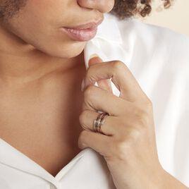 Bague Eleonore Or Tricolore Diamant - Bagues avec pierre Femme | Histoire d'Or