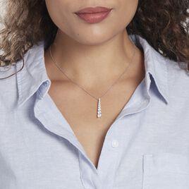 Collier Chiron Argent Rhodié Oxyde - Bijoux Femme   Histoire d'Or